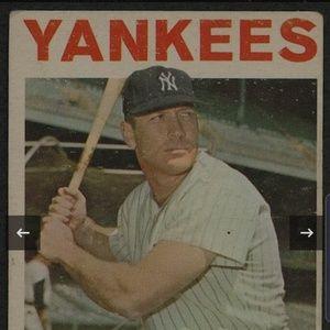 1964 Topps Mickey Mantle New York Yankees #50 Base